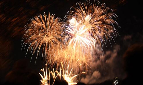 spire-fireworks